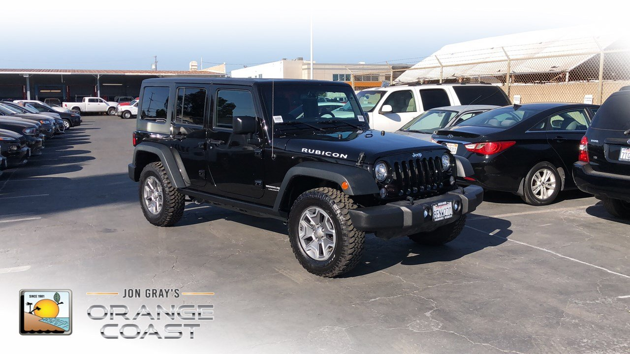 Certified Pre-Owned 2018 Jeep Wrangler JK Unlimited Rubicon