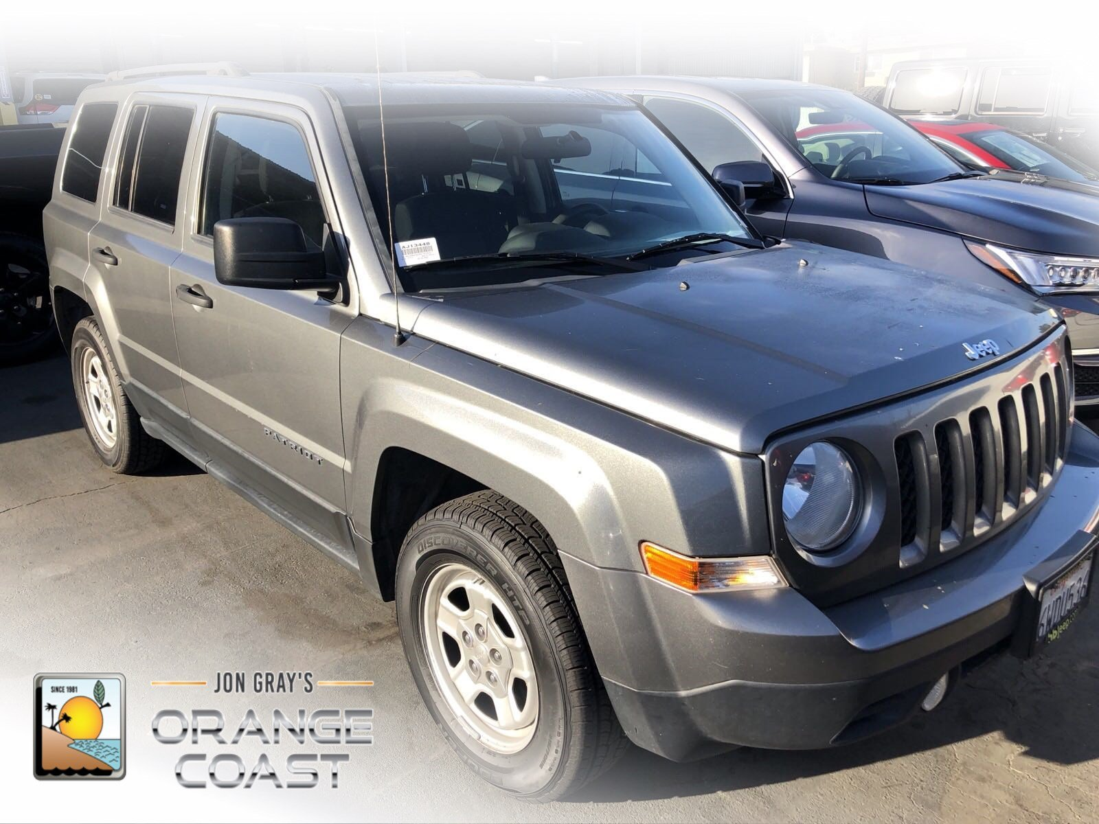 Great PRE OWNED 2012 JEEP PATRIOT SPORT