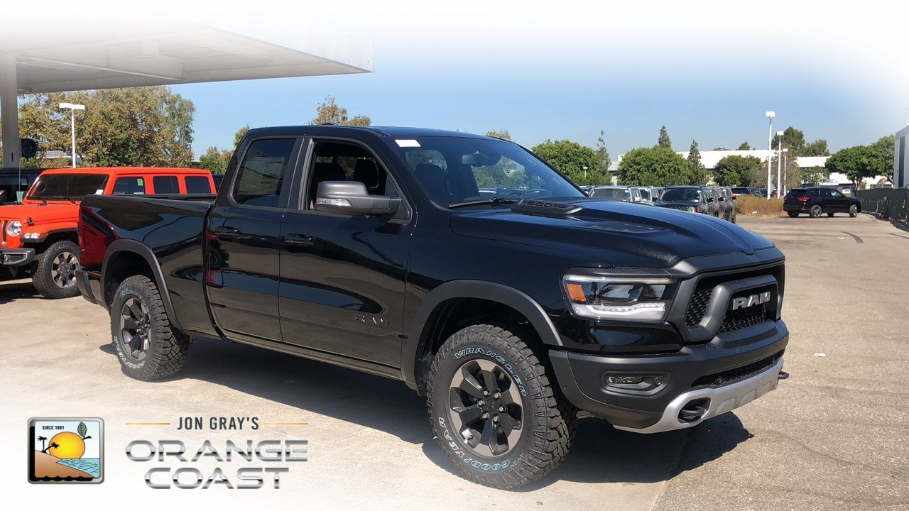 Ram 1500 Rebel >> New 2019 Ram All New 1500 Rebel Quad Cab In Costa Mesa Rm90275