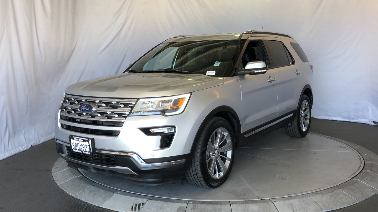 Pre Owned 2018 Ford Explorer Limited Sport Utility In Costa Mesa 2006 Check Charging System