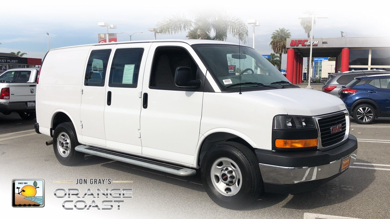 101103d9f4 Pre-Owned 2017 GMC Savana Cargo Van Work Van Full-size Cargo Van in Costa  Mesa  PN3174
