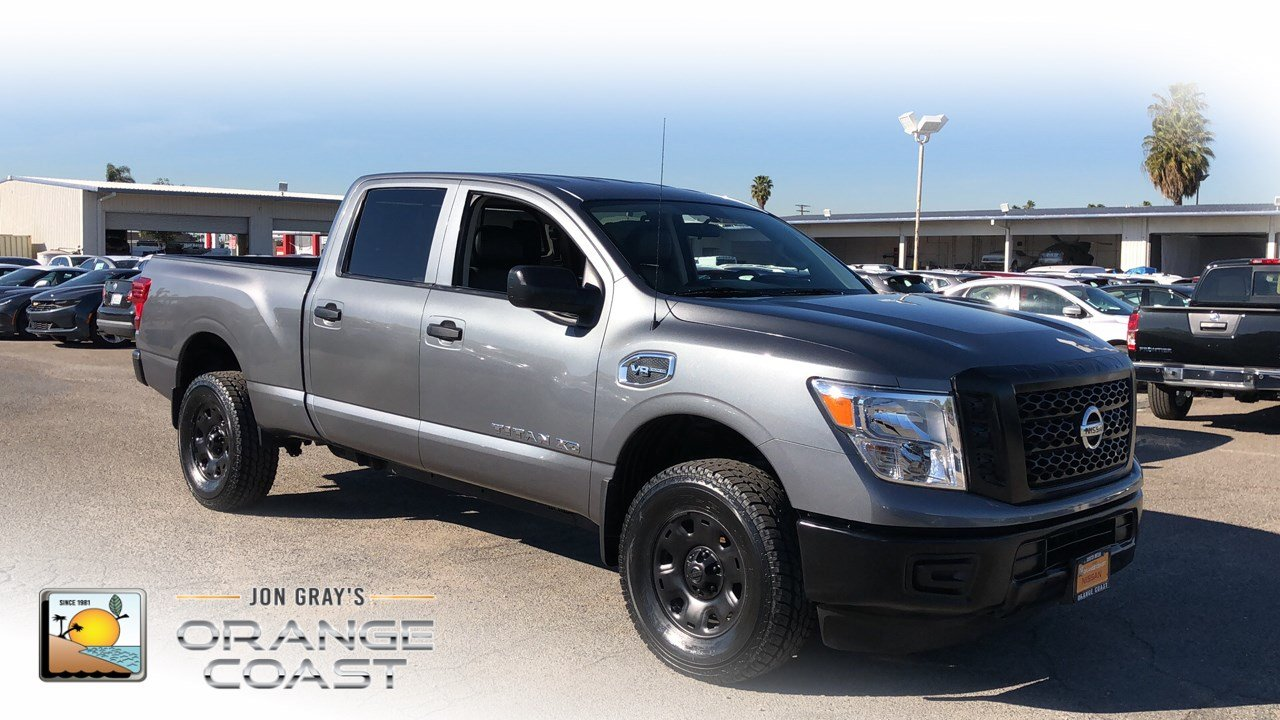 Pre Owned 2017 Nissan Titan Xd S Crew Cab Pickup In Costa Mesa
