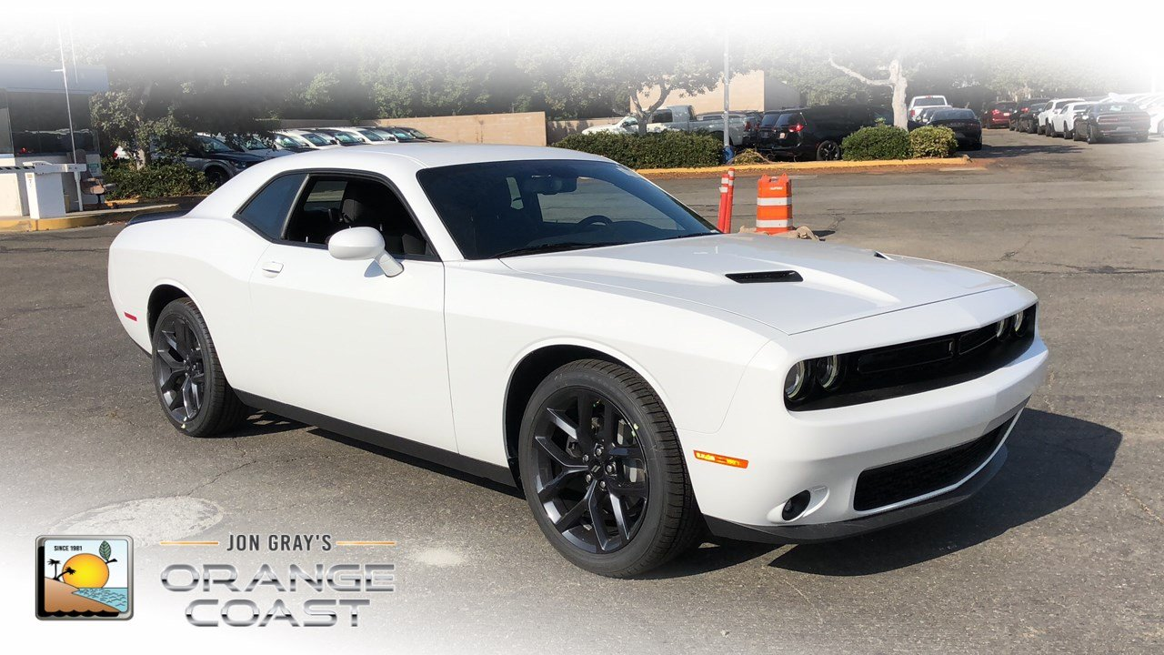 New 2019 Dodge Challenger Sxt Coupe In Costa Mesa Cl90416 Orange