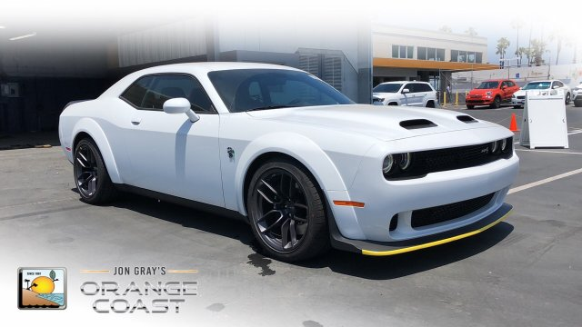 NEW 2019 DODGE CHALLENGER SRT® HELLCAT REDEYE WIDEBODY