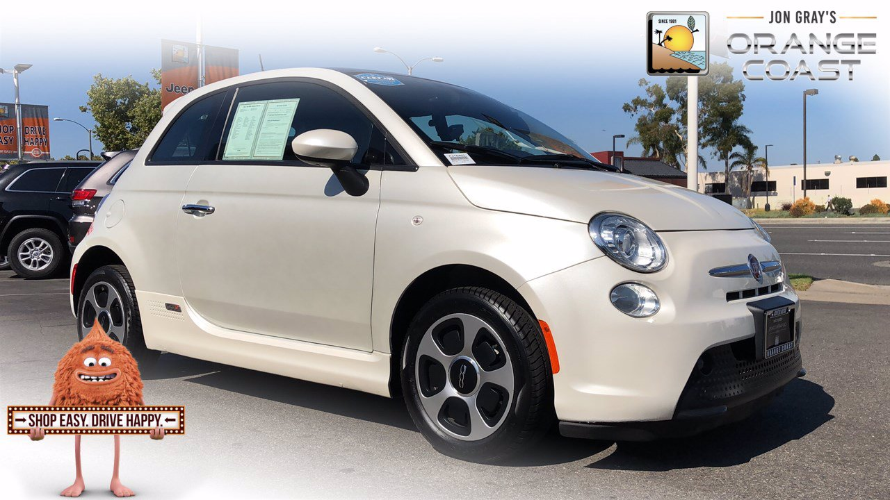 Pre-Owned 2017 FIAT 500e 2DR HB
