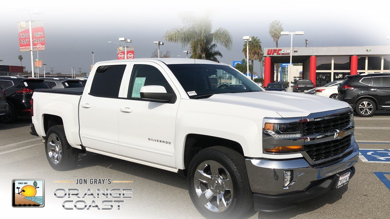Pre Owned 2017 Chevrolet Silverado 1500 Lt Crew Cab Pickup In Costa