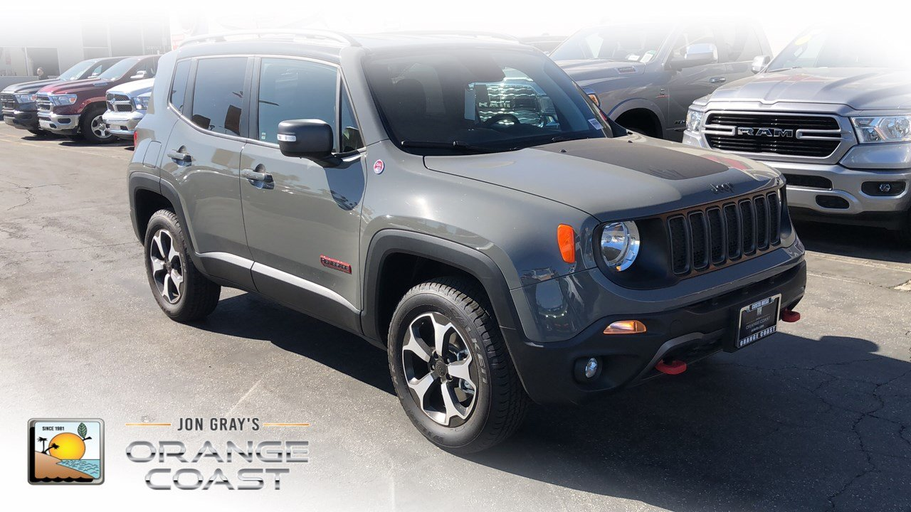Jeep Renegade Orange >> New 2019 Jeep Renegade Trailhawk 4x4