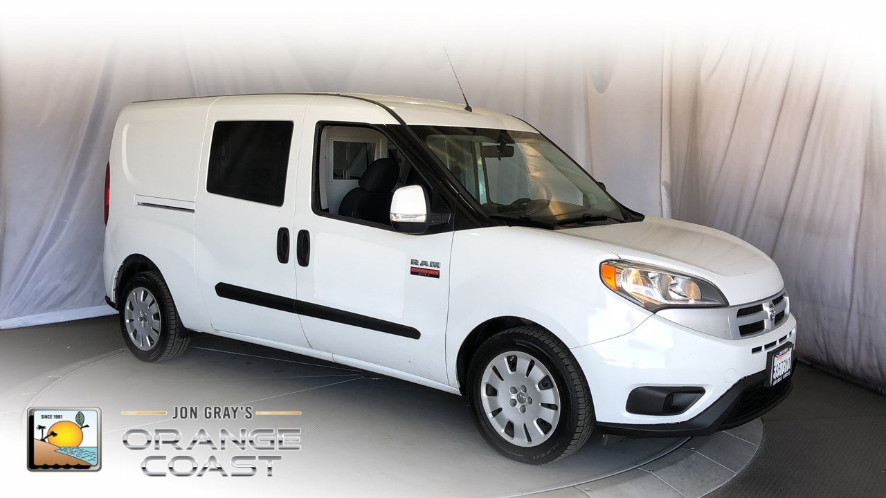 Pre Owned 2016 Ram Promaster City Cargo Van Tradesman Slt Mini In Costa Mesa Pn3345 Orange Coast Chrysler Jeep Dodge Fiat